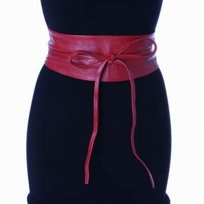 fournir un grand choix de choisir l'original plutôt sympa ceinture large a nouer cuir,ceinture large cuir marron ...